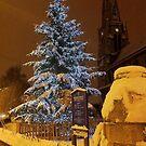 White Christmas Night by Emazevedo