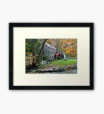Sudbury Grist Mill Framed Print