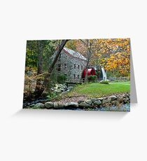 Sudbury Grist Mill Greeting Card
