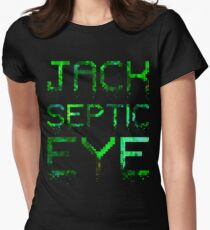 Crumbled Pixels | JackSepticEye Womens Fitted T-Shirt