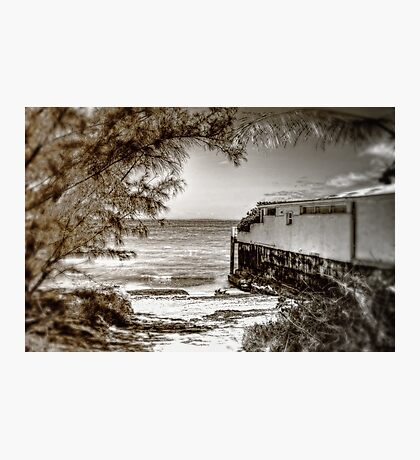 Living on the beach... Photographic Print