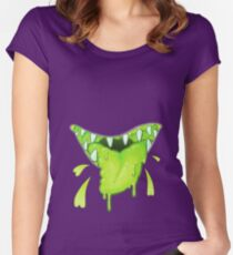 BLEH!! Women's Fitted Scoop T-Shirt