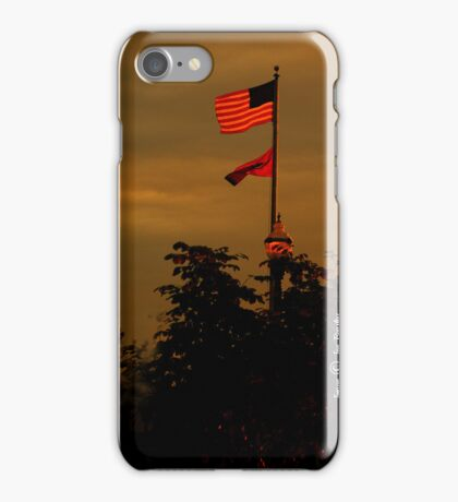 That star-spangled banner yet wave iPhone Case/Skin