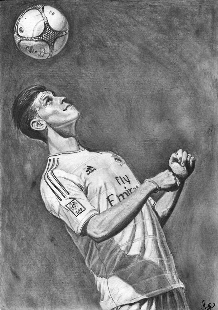 Gareth Bale by RONK