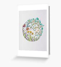 Mandala/14 - Stacey Greeting Card