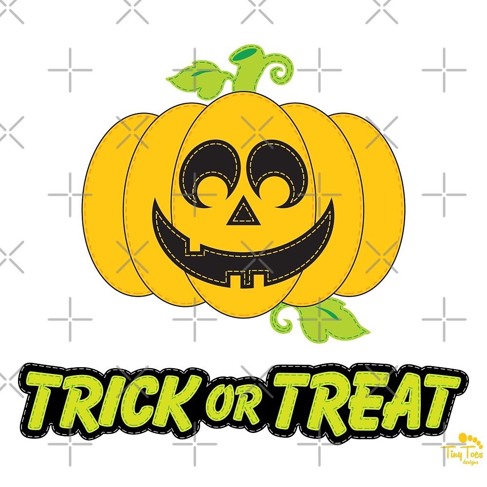 Jack O' Lantern Trick or Treat by BadCatDesigns