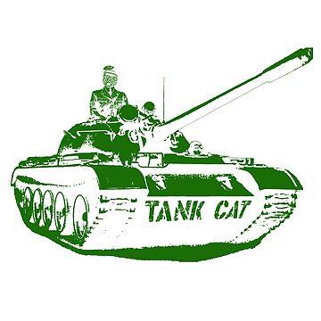 TANK CAT! by superfurrygeth