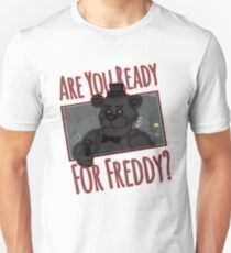Five Night at Freddy Quotes T-Shirt