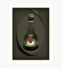 ✿◕‿◕✿  ❀◕‿◕❀ My Collectable Musical Bols Ballerina Bottle ✿◕‿◕✿  ❀◕‿◕❀ Art Print