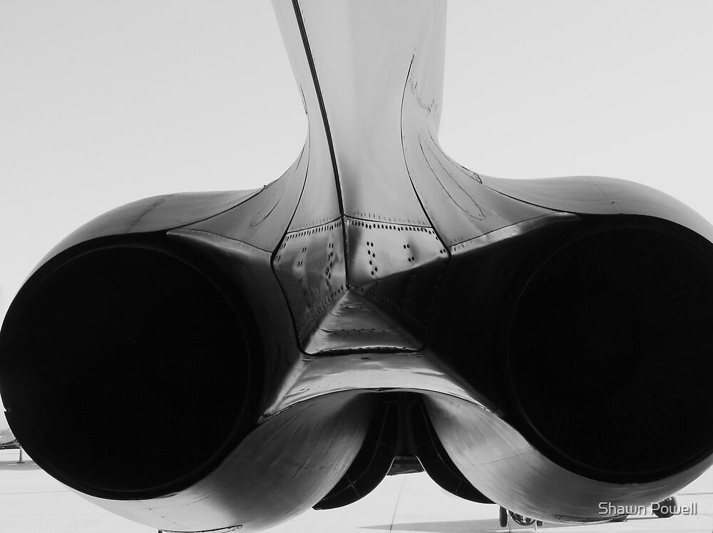 B-52 Engine by Shawn Powell