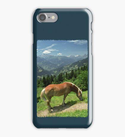 Horse at Kristberg (iPhone case) iPhone Case/Skin