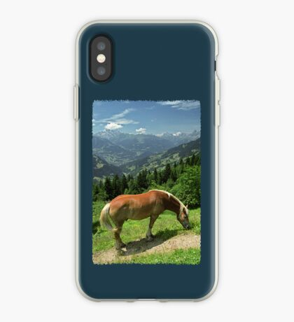 Horse at Kristberg (iPhone case) iPhone Case