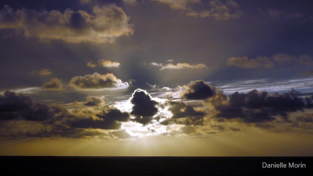 Beach Clouds by Danielle Morin