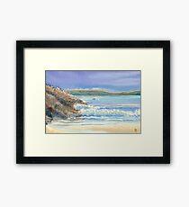 Meal Beach, Burra Framed Print