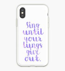 Fall Out Boy Lyric iPhone Case