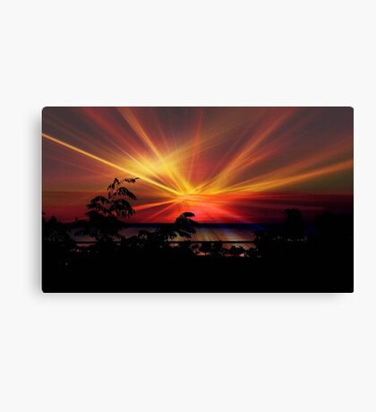 Star Sunrise © Canvas Print