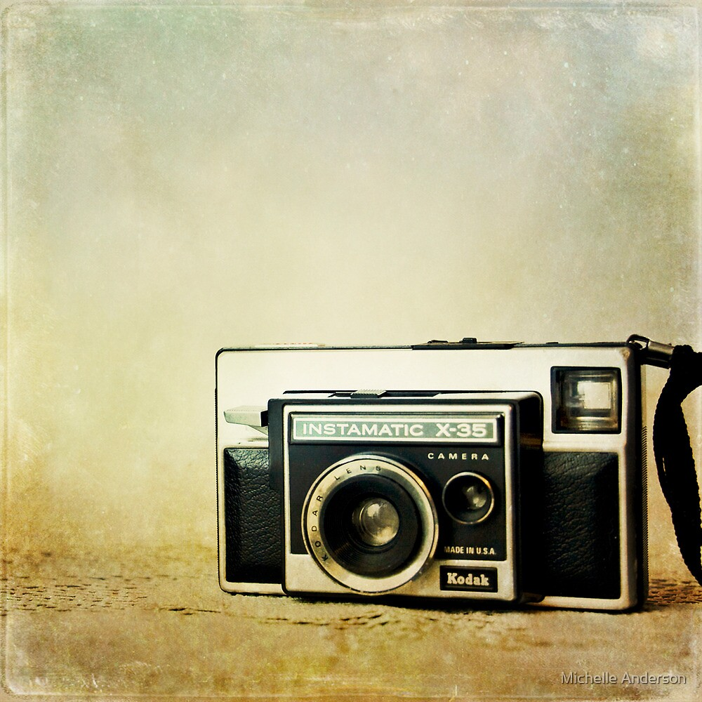 January - Kodak Instamatic by Michelle Anderson