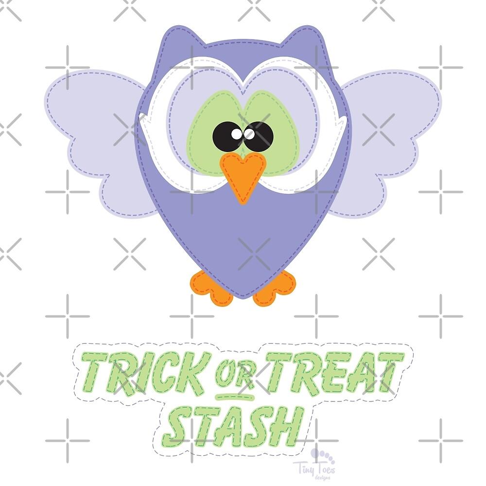 Sweet Owl Trick or Treat Stash by BadCatDesigns