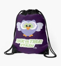 Sweet Owl Trick or Treat Stash Drawstring Bag