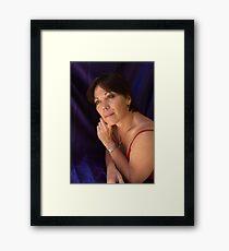 PORTRAIT PHOTO #6 in color Framed Print