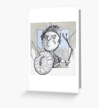 Street Kid Greeting Card
