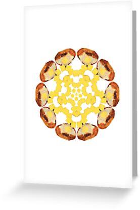 Buttered Baked Potato Mandala by Jamila Tazewell