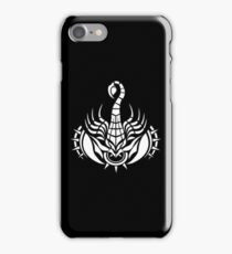 Scorpion White iPhone case iPhone Case/Skin