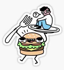 Dinner Is Served! Sticker
