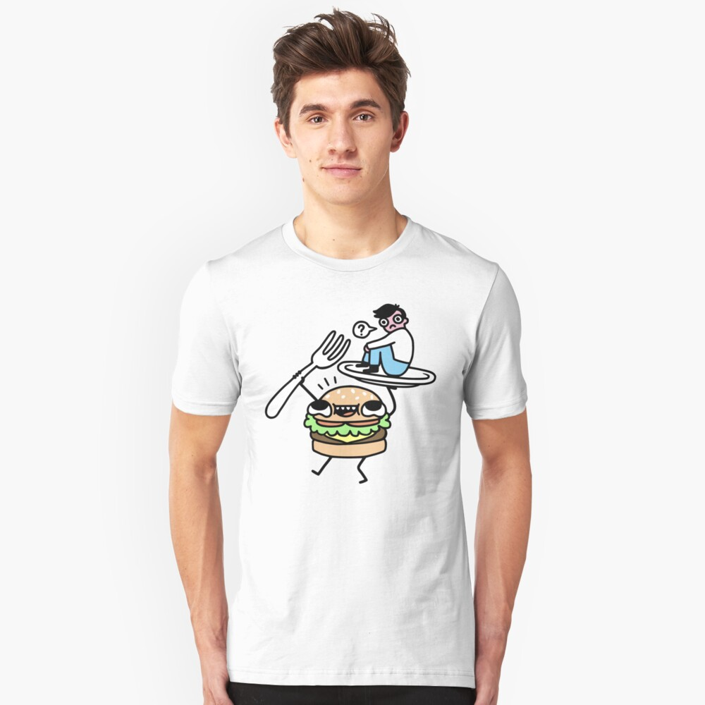 Dinner Is Served! Slim Fit T-Shirt
