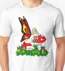 Sassy Faerie and Mushrooms T-Shirt