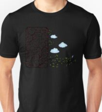 Escape (for light t-shirt colours) Unisex T-Shirt