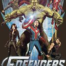 FOFOP - Fofengers (t-shirts and hoodies) by James Fosdike
