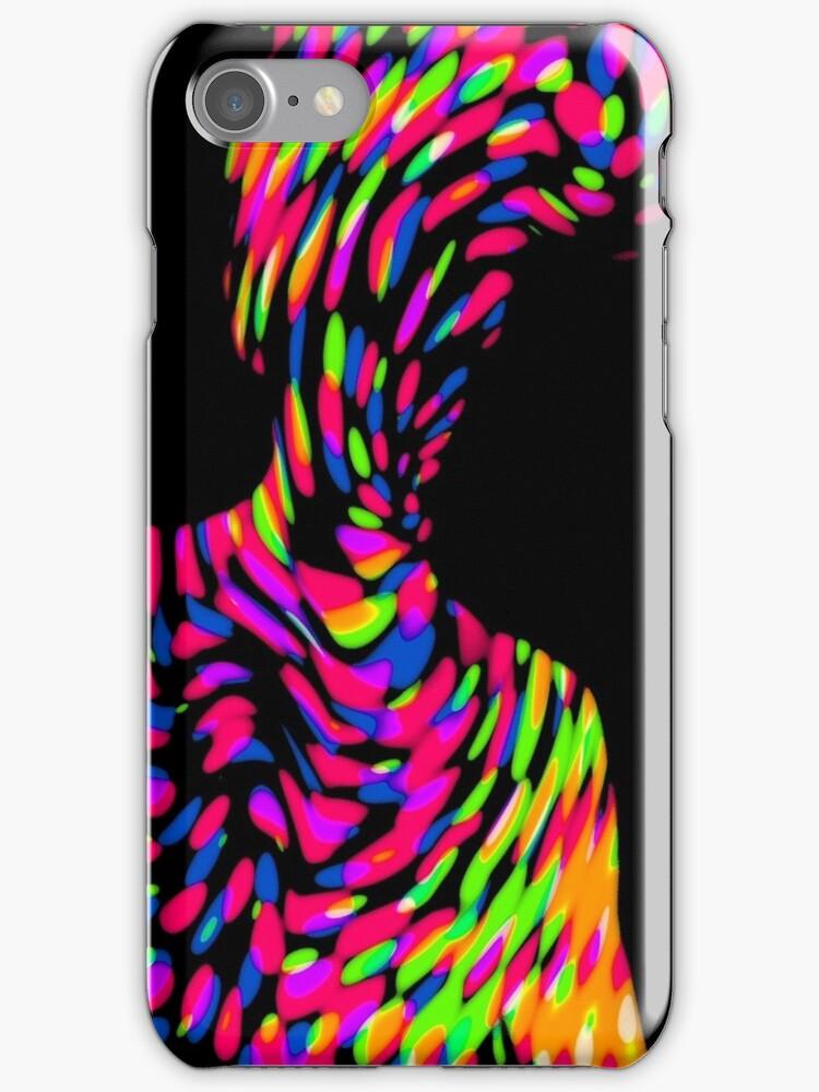 Universal Energy iPhone Case by Denis Marsili