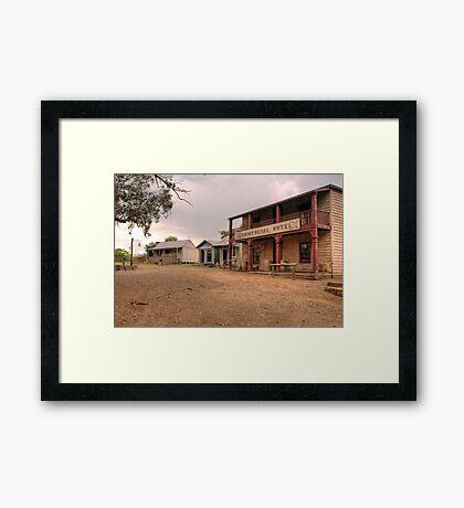 Mary's Pub- Australian Pioneer Village Framed Print