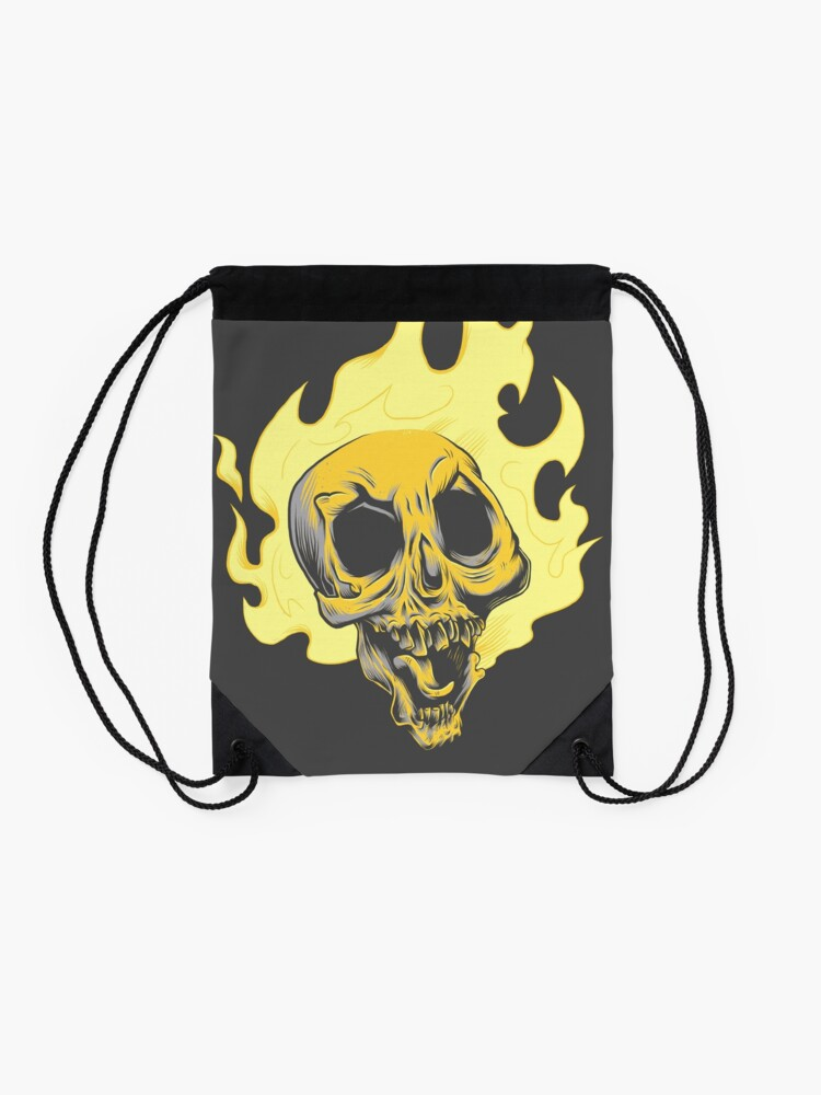 Alternate view of Ghost Drifter Drawstring Bag