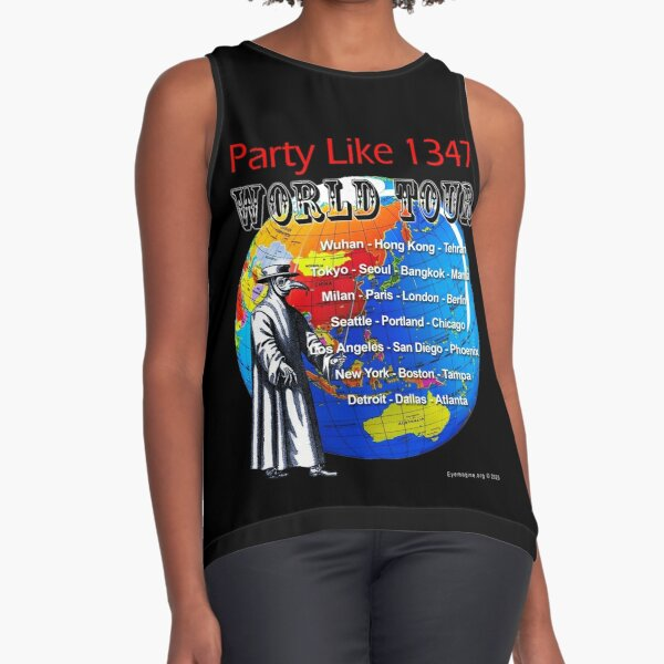 Party Like 1347 World Tour Sleeveless Top