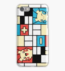 Composition with Positives and Negatives iPhone Case/Skin
