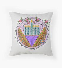 Hanukkah Menorah/3 - Feathers/3 Throw Pillow