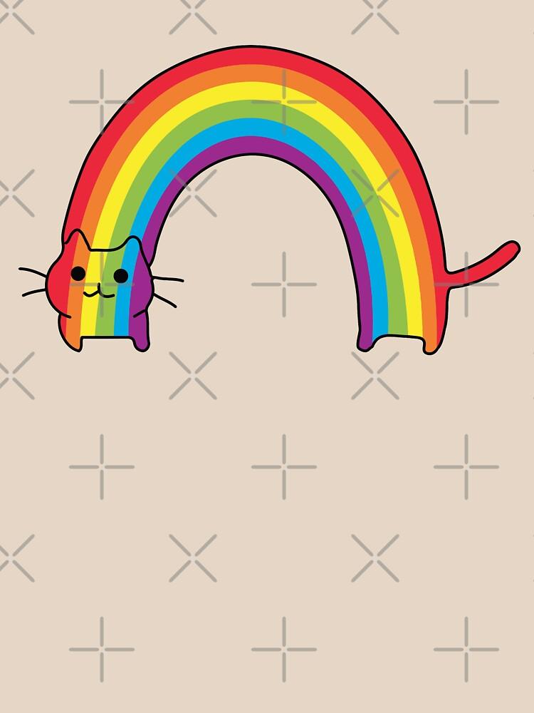 Rainbow Cat de whitneykayc