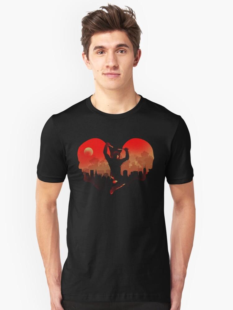 Devil in Kitchen Unisex T-Shirt Front