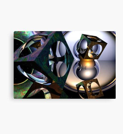 On The Voyage to Babylon Canvas Print