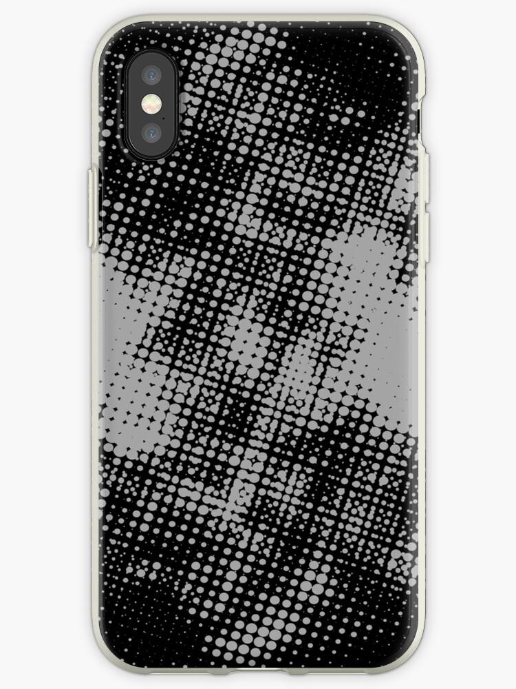 Grunge Halftone iPhone Case by Denis Marsili