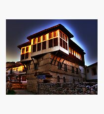 Traditional old house at Kastoria (Makedonia, Greece) Photographic Print