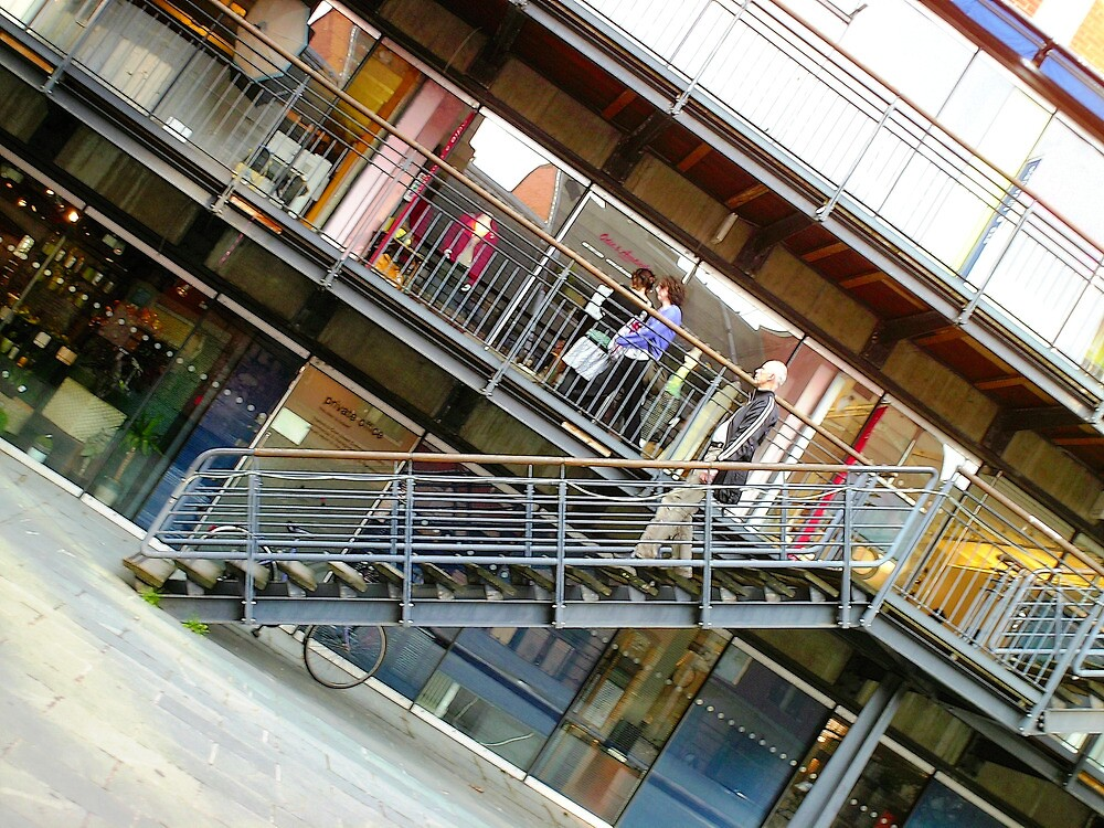 Downstairs by Benedikt Amrhein