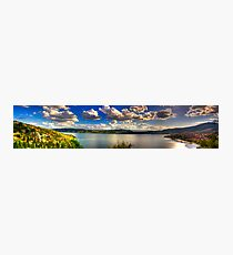 Panoramic view of Kastoria city. (Makedonia, Greece) Photographic Print