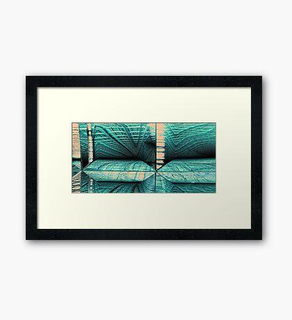 Scanning Tunnel Framed Print