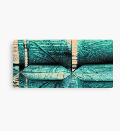 Scanning Tunnel Canvas Print