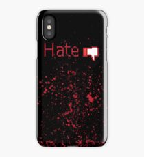 Hate Button  iPhone Case