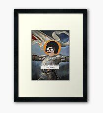 Queen Belcher - Saintly Celebs Framed Print