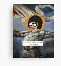 Queen Belcher - Saintly Celebs Canvas Print